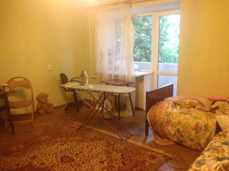 Комната, в которой вы будете жить.