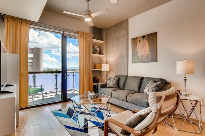 Large Juhl Condo with City View and Amenities
