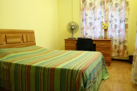 Private room in shared apartment/free parking. - Port Louis - Leilighet