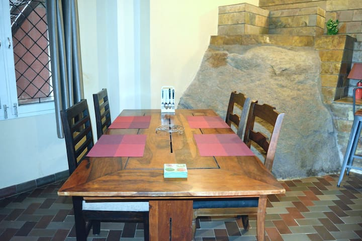 Rock From The Dining Table