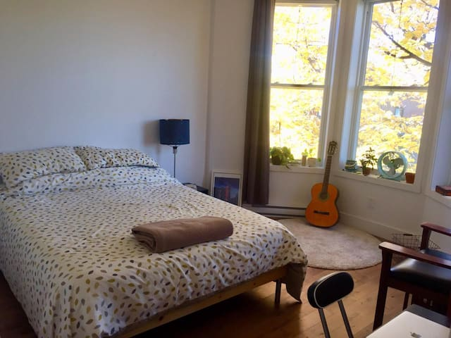 Plateau Bedroom, homey, neat & central