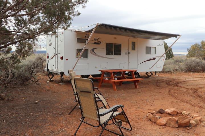 Camp Valhalla at Zion Site #1