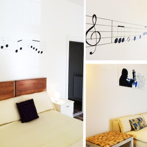 """appartamento """"della musica"""""""