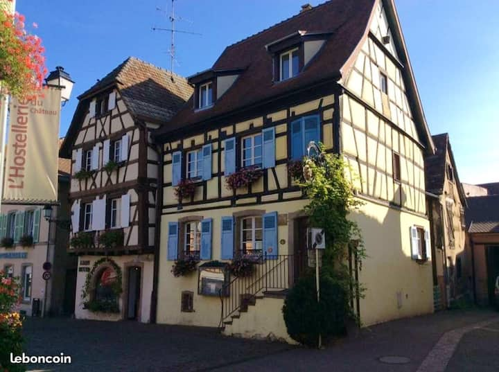 Apartment with 3 bedrooms in Eguisheim, with furnished terrace and WiFi - 50 km from the slopes
