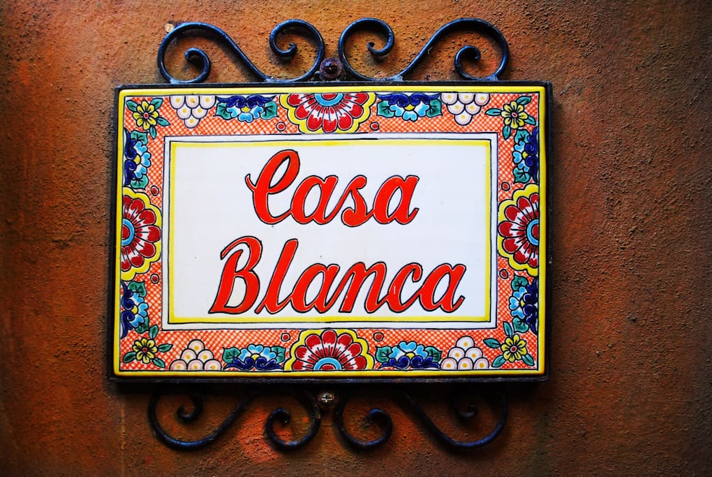Welcome to Casa Blanca