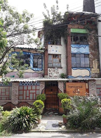 Casa Viva Apartaestudio Terraza