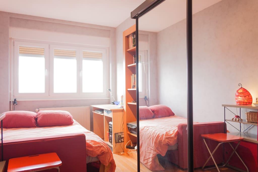 la chambre d'étudiant