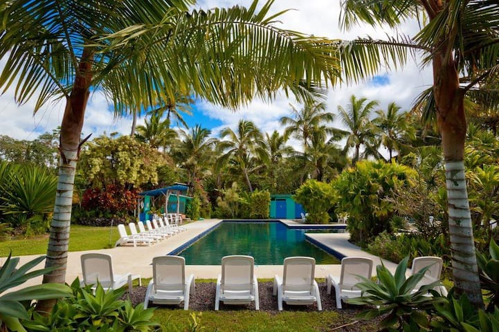 Private Cottage at Kalani Oceanside Retreat 2 beds