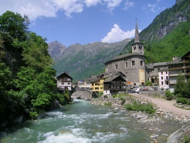 Heart of Valsesia-Casa del Pescatore-Campertogno - Campertogno