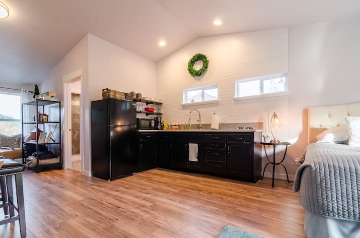Scenic Loft,Private getaway, kitchenette,OSU close - Philomath - Apartamento