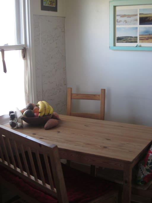 the 'breakfast nook'
