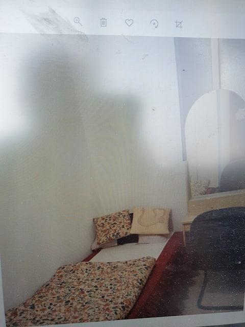 Small Room with attached bathroom in Corniche