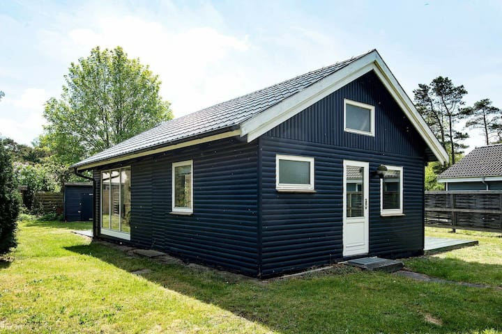 Relaxing Holiday Home In Knebel with Barbecue