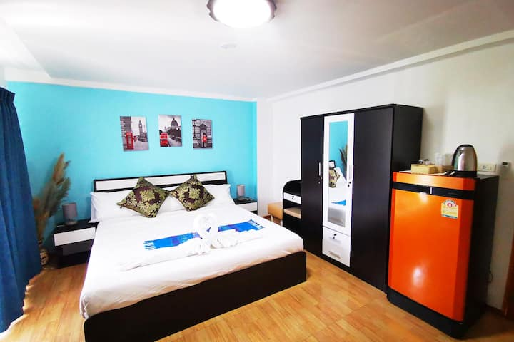 Krong House, King Room Hotel / Guesthouse