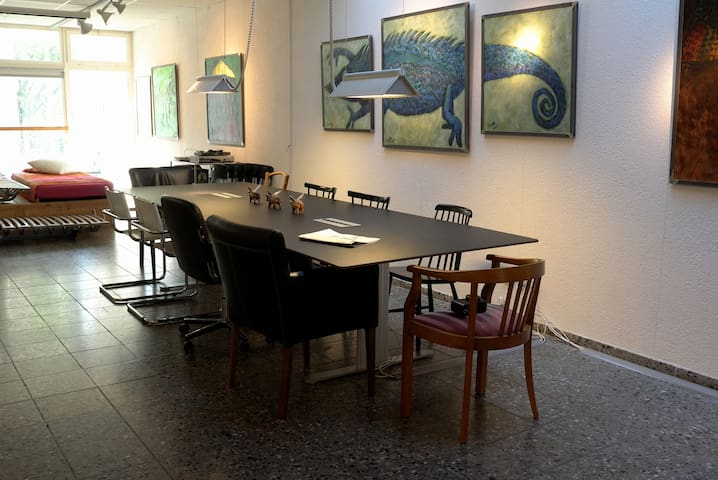 artist atelier in quiet surrounding - Berne - Daire