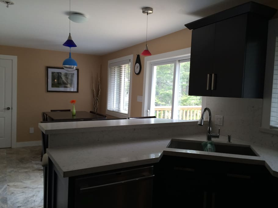Fully Equipped Kitchen (Stove, Refrigerator, Microwave, etc.)