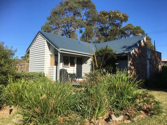 Cottage entrance & deck