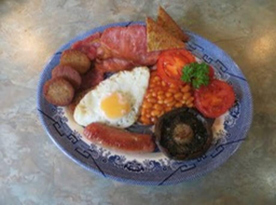 Our  Cornish Breakfast