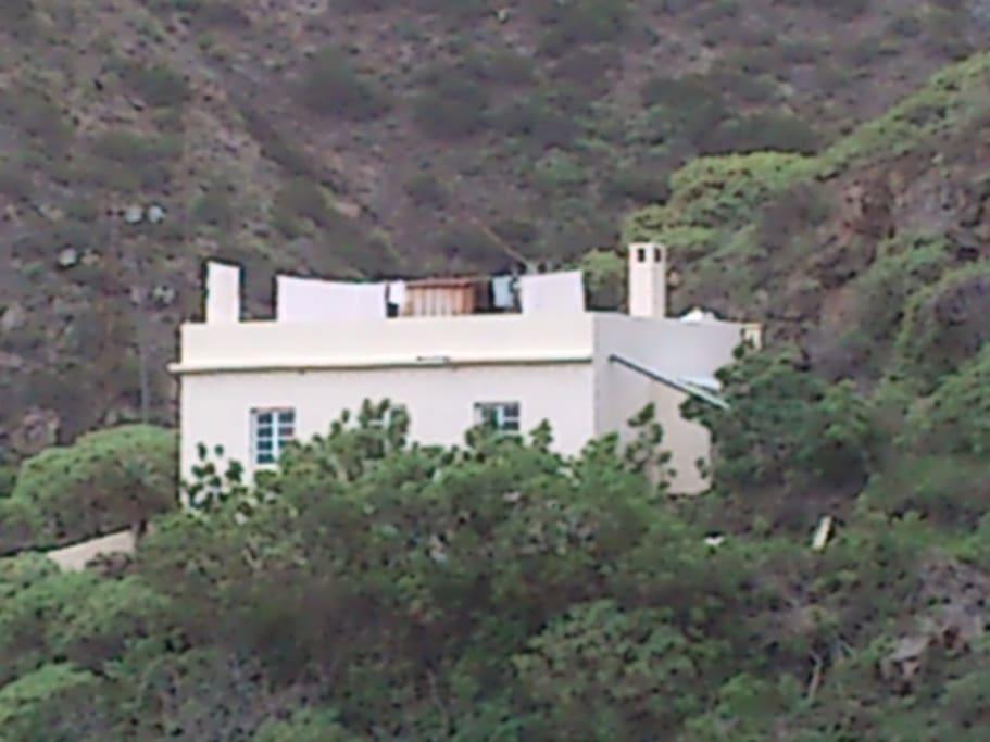 La casa, the house