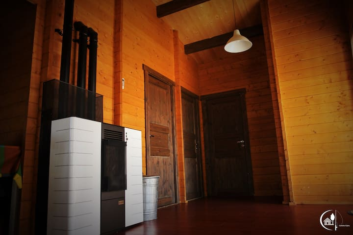 """Cabañas Cijara """"La bella María3"""" - Pantano de Cijara - Rumah"""