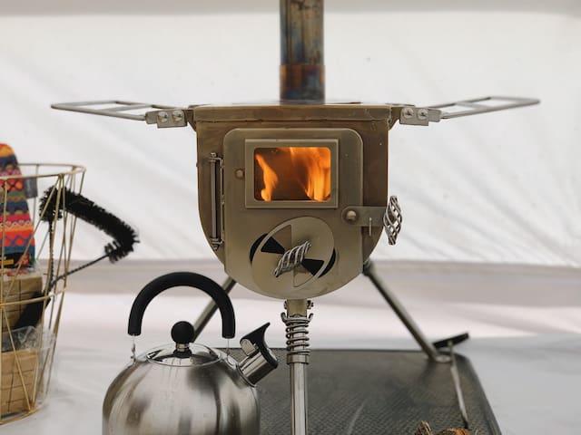 Ultimative Erholung - Ofen für warme Winternächte
