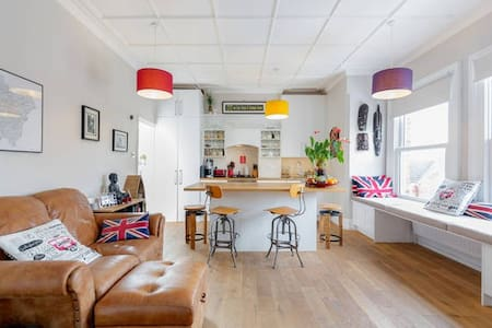 Bright Flat in Herne Hill with great transport