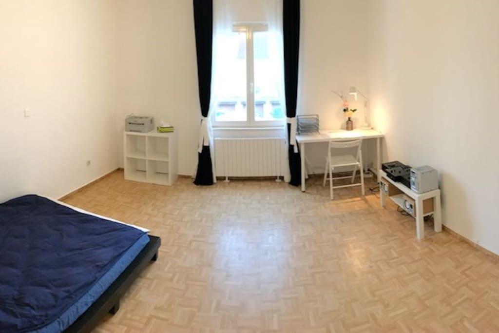 Ein 4,5 x 5 m helles Wohnzimmer zum Wohlfühlen...
