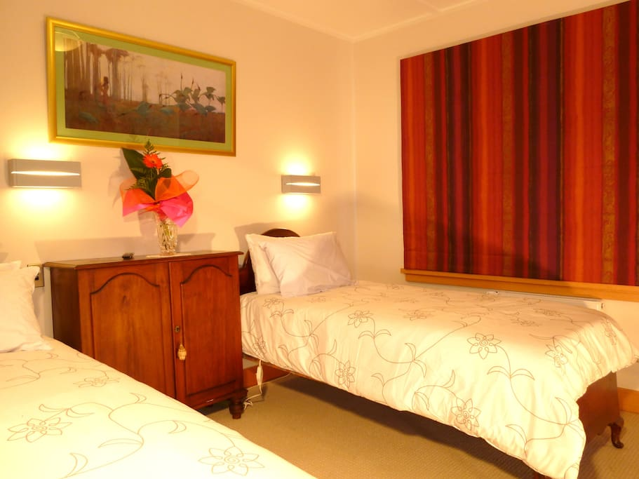 Terrace Room - two single beds