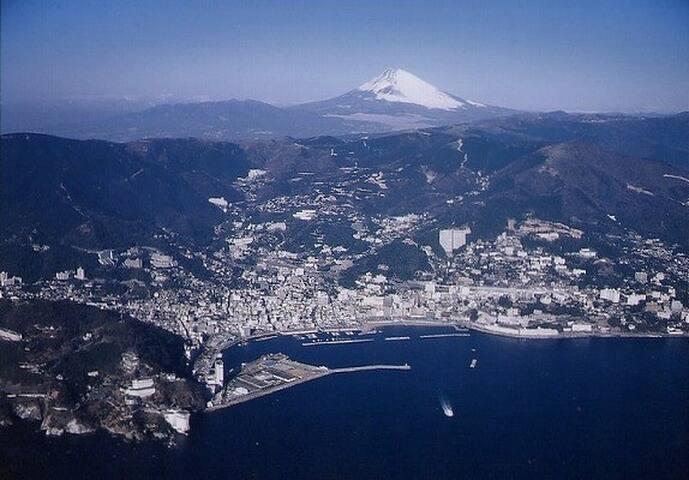 和の別荘へ Atami  OceanView Japanese traditional house
