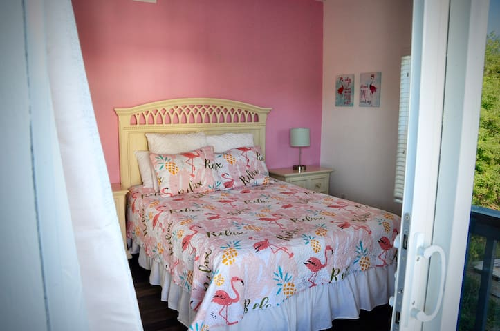 Pretty in Pink - 2nd Bedroom