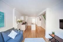 Lovely Brownstone Garden Apartment
