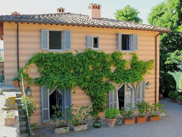 Charming Villa & pool in Chianti x 9 - Lamole