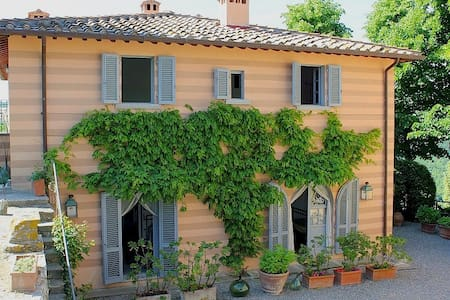 Charming Villa & pool in Chianti x 9 - Lamole - Villa - 1