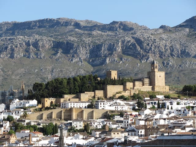 Private House, view over Antequera