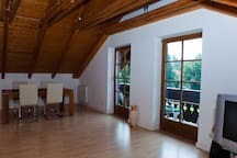 2 Zimmer in Grünwald/Muc, 1-3 Pers.