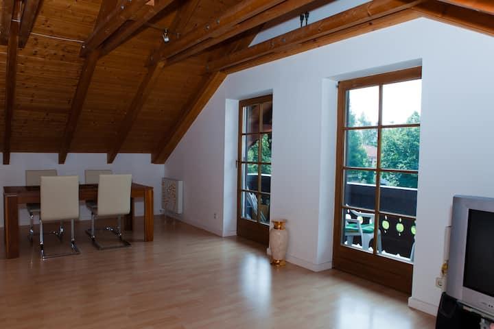 Cozy flat Munich-Grünwald, 1-5 pers