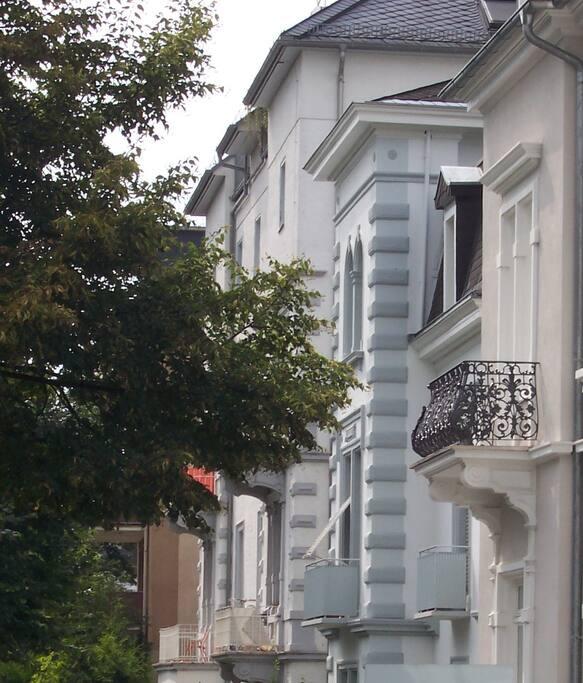 Dichterviertel, Lessingstraße
