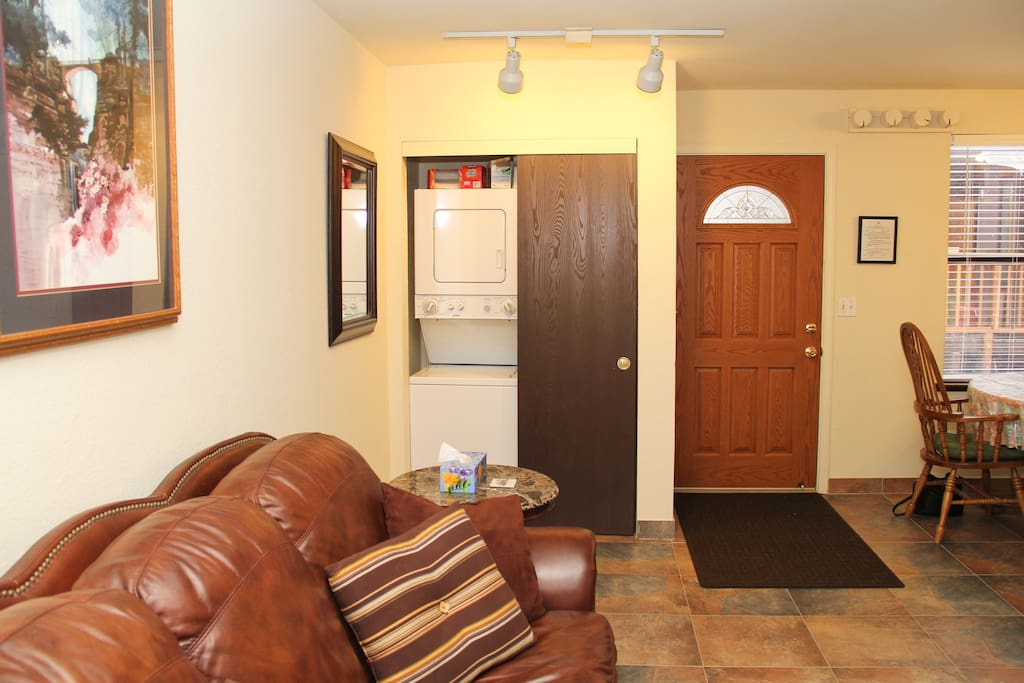 Entry & Closet with Washer/Dryer