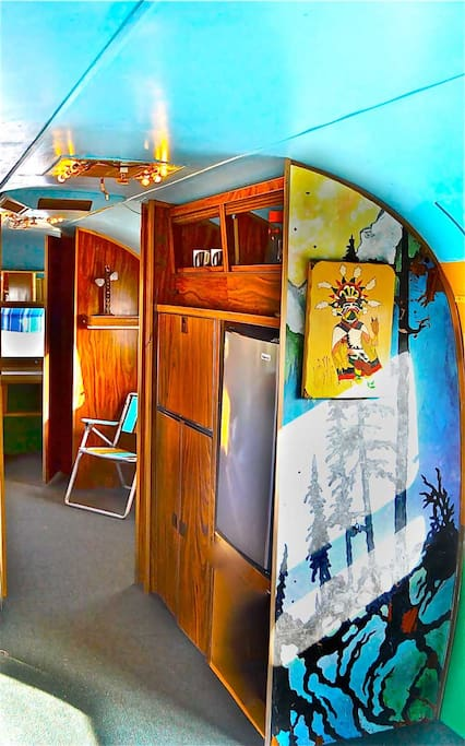 """North to Alaska"" interior"