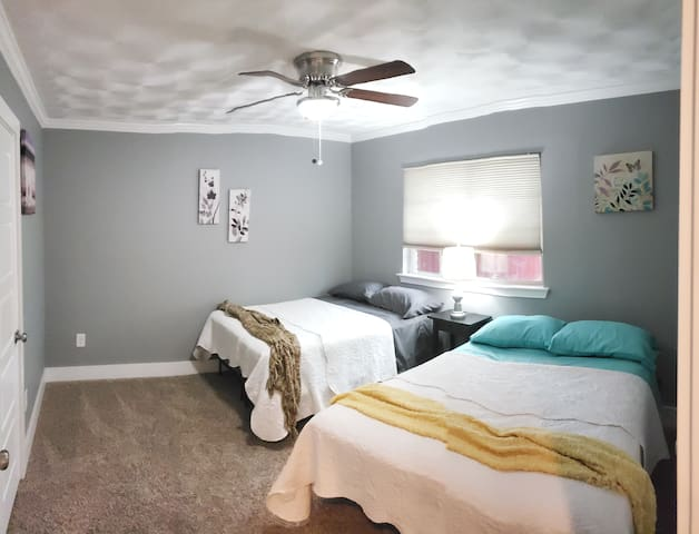 Secondary Bedroom with Two Full Beds