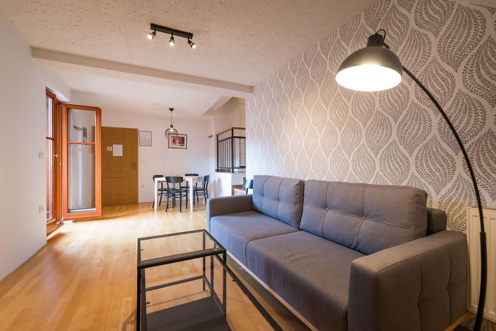 Villa Nebina Ap3 - living room