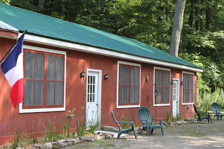 NY Adirondack Cabin by the River - Annsville