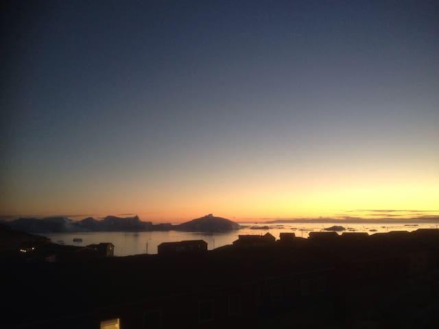 Værelse tæt på isfjorden - Ilulissat