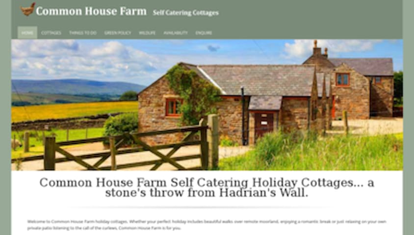 Bothy Cottage in Hadrian's Wall country