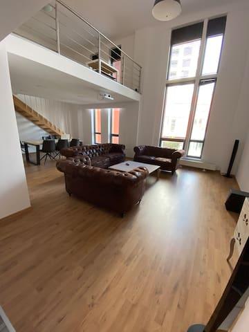 Luxury Loft 120m2, CityPark Ružinov, free parking