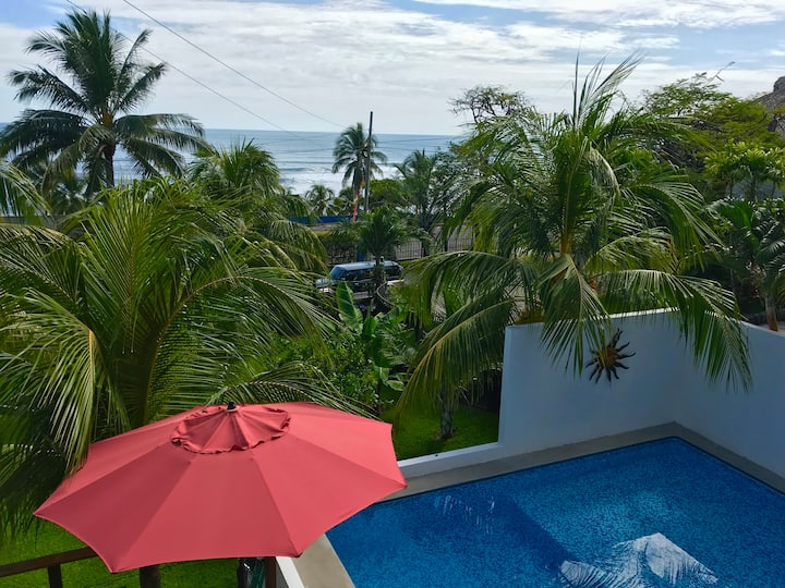 Kayu Beach  House w/Pool @ Sunzal | El Tunco