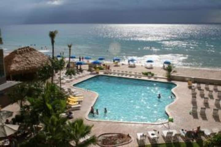 Large Private Suite in Oceanfront Resort Hotel