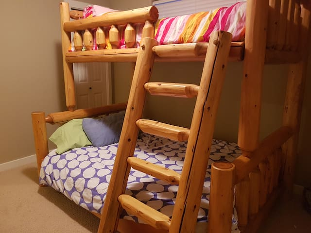 2nd Bedroom - Double, Single Bunk Bed
