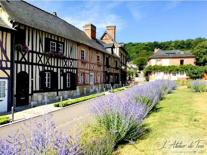 Chambre du Poète - Normandie - Le Bec Hellouin