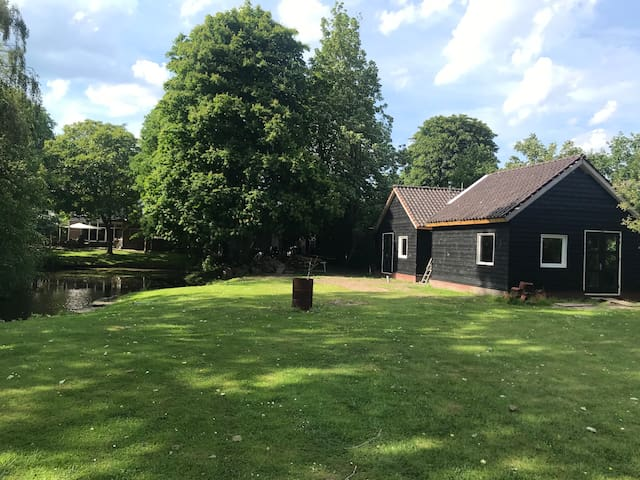 House at the IJSSELMEER lake 30 min from Amsterdam